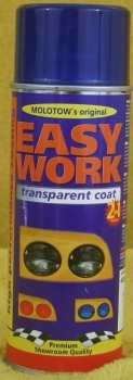 Easy Work. tranparent coat, blue, 400ml